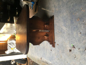 Antique dining table $75