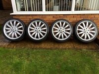 "Range Rover 22"" Overfinch Tiger Style Alloys"