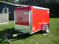 4x8.5 trailer  just like new