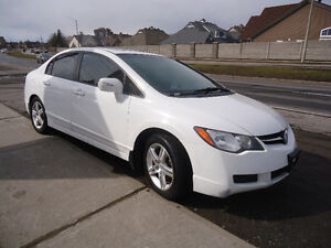 2008 Acura CSX Comes with Sefety & E Test