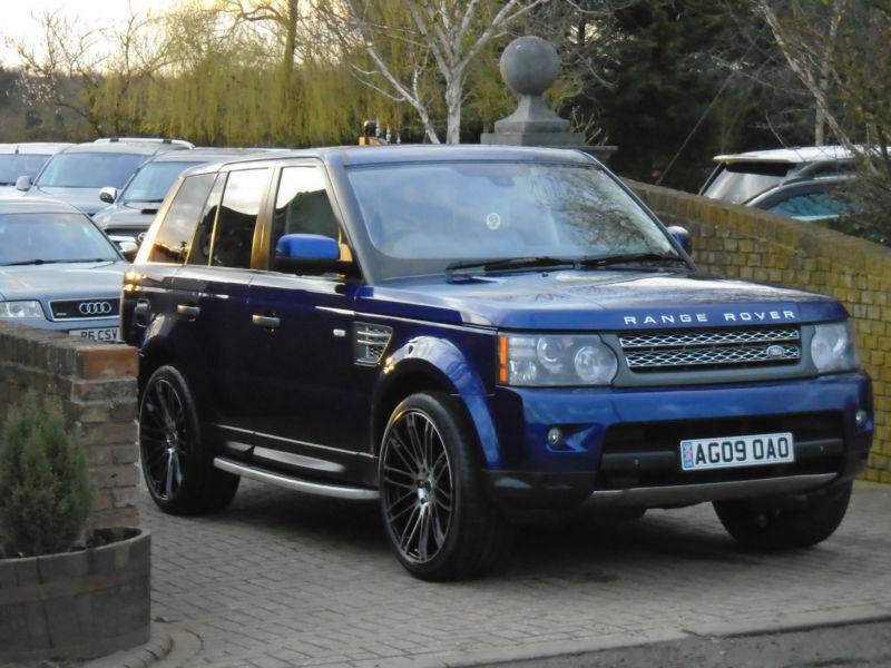 2009 land rover range rover sport 5 0 v8 super charged auto hse bali blue in milton keynes. Black Bedroom Furniture Sets. Home Design Ideas