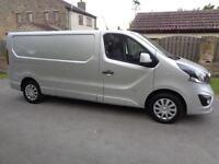 2014 (64reg) Vauxhall Vivaro 1.6CDTi 115PS Sportive 2900 LWB Van