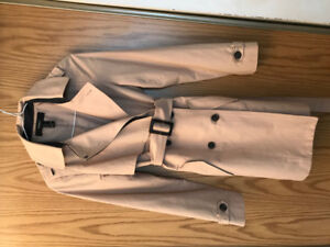 Beige Trench Coat - $35 (Lower Lonsdale) image 1 of 3