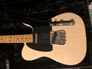 High end gear. Custom shop fender tele, amp, keyboard