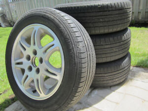 Acura/Honda Mags  with summer tires P205/60R 16