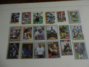Football Cards NFL Hall of Famers and Stars Rookies Lot of 32