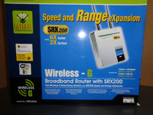 Broadband Router - Wireless-G