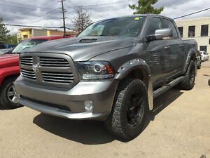 *LIFT* 2013 RAM 1500 CREW CAB SPORT FULLY LOADED