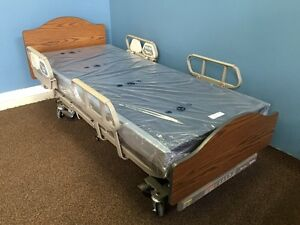 Hill-Rom Resident Hospital Bed & New Mattress