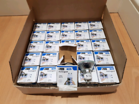 x25 New GU10 50w Halogen Spotlight Bulbs 240v