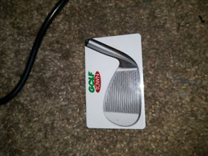 50$ Golf Town gift certificate.