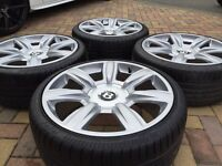 "Genuine 20"" Bentley GTC / Flying Spur Alloy wheels and Tyres To Fit VW Golf / Scirocco Audi A4 A6"