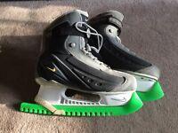 Nike Ice Hockey Skates Size 10