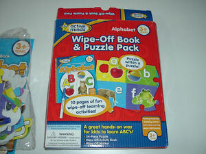 Wipe-off Alphabet Book & Puzzle Pack (Brand NEW)