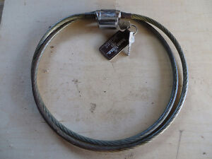 Motorcycle security Cable London Ontario image 1