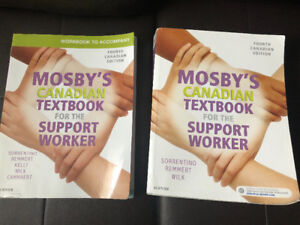 Personal support worker textbook and workbook
