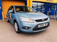 2008 Ford Focus 1.6 Style Hatchback 5dr Petrol Automatic (184 g/km, 99 bhp)