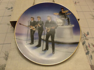 The Beatles Live in Concert Collector Plate 1991