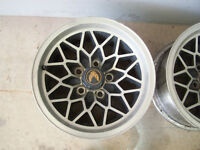 15x8 WS6 Trans Am Snowflake wheels