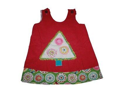 Toddler Girl La Jenns Pink Tree Jumper Dress Size 2T for sale  Bel Air