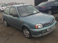 2002 Nissan Micra, 40332 miles on the clock