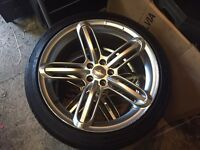 Audi rs6 replica wheels to suit mk4 golf