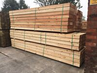 WOODEN SCAFFOLD STYLE BOARDS/PLANKS >NEW< 225MM X 38MM X 3.6M / 225MM X 38MM X 4.2M