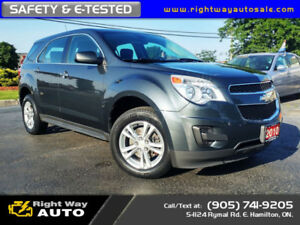 2010 Chevrolet Equinox LS | LOW KMS | SAFETY & E-TESTED