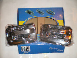 CHROME  04-08 FORD Pickup FRONT OUTER DOOR HANDLE SET London Ontario image 3