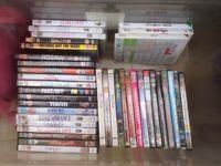 35 DVDs 3 Nintendo wii games