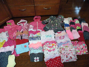 Girls toddler clothing, 18 months and 24 month size