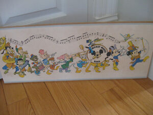 The MICKEY MOUSE PARADE PRINT for the PLAYROOM