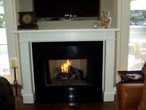 GAS LOG SET FOR INDOOR/OUTDOOR FIREPLACE