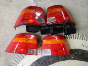 Volkswagen Mk4 taillights and vents