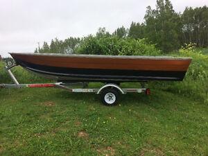 14 foot aluminum boat.