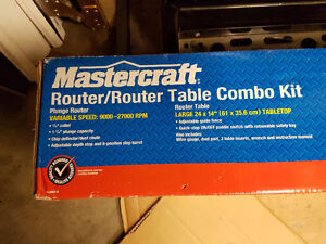 Router and Table set, un-opened Kitchener / Waterloo Kitchener Area image 2