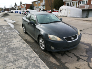 Lexus is250 2007 RWD bas km