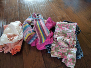 Girl clothes winter, size 5