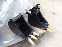 Mini Excavator Buckets 6000-8000lb machines