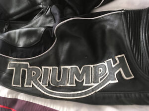 Triumph - Leather Biker Pants