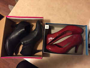 2 pairs of brand new high heels!