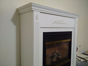 Gas fireplace, direct vent with mantle Stratford Kitchener Area image 2