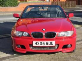 2005 BMW 318CI SPORT CONVERTIBLE + M SPORT STYLING + 94K + FSH