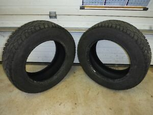 One Pair General Tire Altimax Arctic Winter Tires.