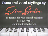 Piano & Vocal Stylings by Jim Godin