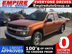 2007 CHEVROLET COLORADO LT * RWD * EXTENDED CAB PICKUP