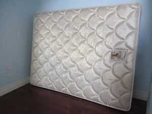 Queen Sealy Posturpedic mattress for sale Kitchener / Waterloo Kitchener Area image 1