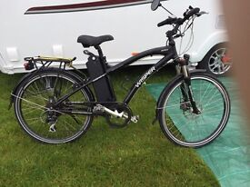 Whisper electric bicycle