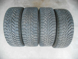 Nokian Nordman 4 Winter tires (205/55/16) on OEM Rims