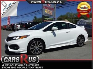 2014 Honda Civic Si 2dr HFP PACKAGE !